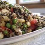pineapple cashew quinoa stir fry