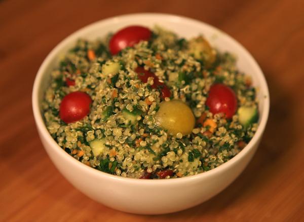 Recipe: Simply Delicious Quinoa Tabouleh