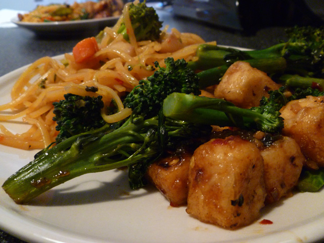 Two amazingly delicious vegan chinese dishes chic vegan general taos tofu forumfinder Choice Image