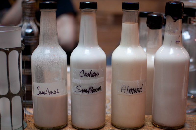 Various Non-Dairy Milks From Fresh 2 Death