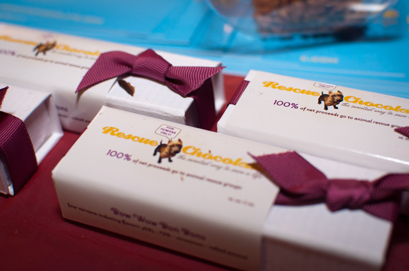 Decadent Chocolate Bars From Rescue Chocolate
