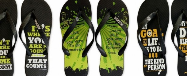 REVIEW & GIVEAWAY – MUSEWEAR FLIP FLOPS