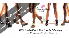 Vegan-Eco Online Fashion Sample Sale – Up To 70% Off Designer Labels For 7 Days Only!
