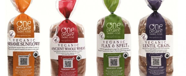 Product Review — One Degree Organic Foods Veganic Bread