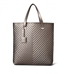 Newport quilted tote
