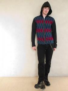 (C) Lois Eastlund Designs Menswear hoodie