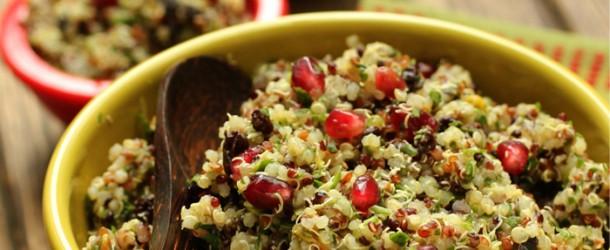 Recipe: Quinoa Salad With Pistachios And Currants