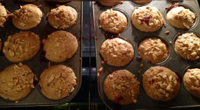 Recipe: Peanut Butter and Jelly Stuffed Banana Muffins