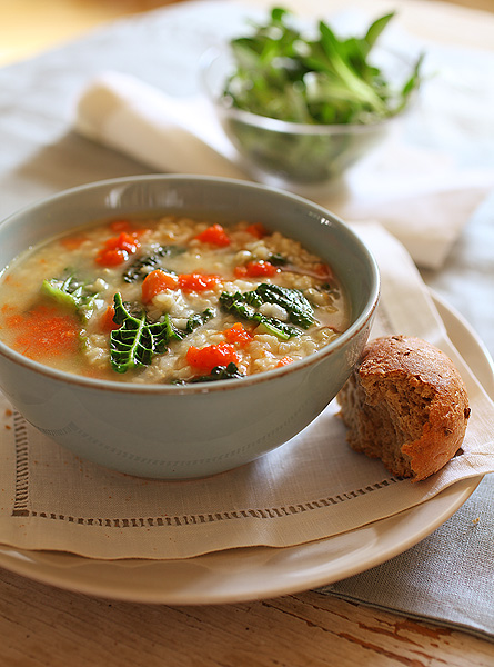 Tuscan Kale Soup from Christina Pirello's Wellness 1000
