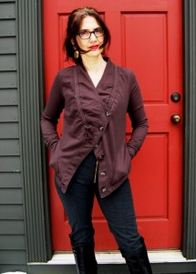 Donna Oakes modeling a Prarie Underground jacket