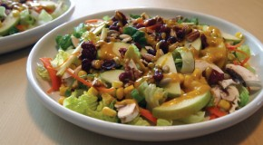Virtual Vegan Potluck: Harvest Salad with Pumpkin Vinaigrette
