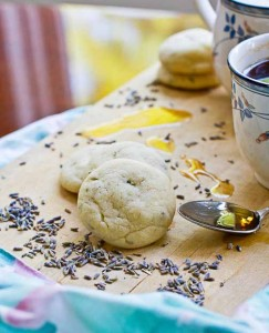 Lavender Mint Tea Cookies
