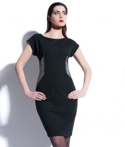 Tu&Tu London dress.  The grey side panels can accentuate your waist!