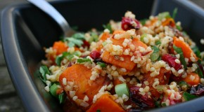 Recipe: Cranberry and Butternut Squash Bulgur Wheat Salad