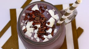 Recipe: Wild Blueberry & Cacao Superfood Smoothie