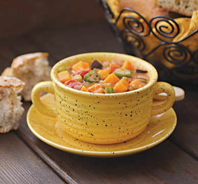 brimming with vegetables this flavorful stew is especially good served ...