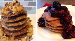 Recipe: 4 Ingredient Protein Pancakes