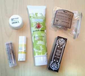 Vegan Cuts Beauty Box Feb Contents