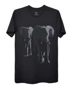 Men's t shirt with elephant print