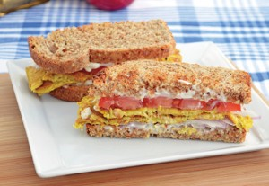 Fried Vegan Egg Sandwich LoRes