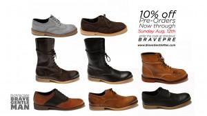 "Joshua Katcher's ""BraveGentleMan"" brand by Novacas."