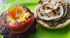 Recipe: Grilled Portobello Peach Sandwiches