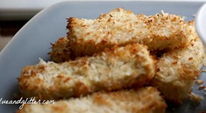 Coconut-Crusted Tofu with Maple-Sriracha Dipping Sauce