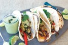 Recipe: Portobello Fajitas with Roasted Poblano Cream Sauce