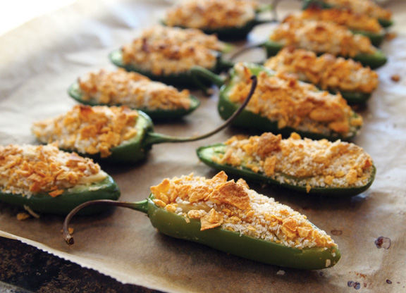 Book review and giveaway vegan finger foods chic vegan baked jalapeo poppers two of my favorite recipes in vegan finger foods forumfinder Gallery