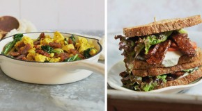 Recipe: Down-Home Country Tofu Scramble with Sweet & Smokey Tempeh Strips