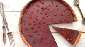 Recipe: Gluten-Free Chocolate & Coconut Tart