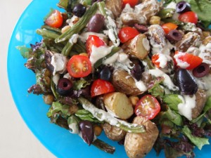 Roasted Nicoise Salad