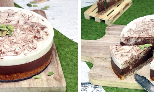 Recipe: Chocolate, Coconut & Cardamom Tart