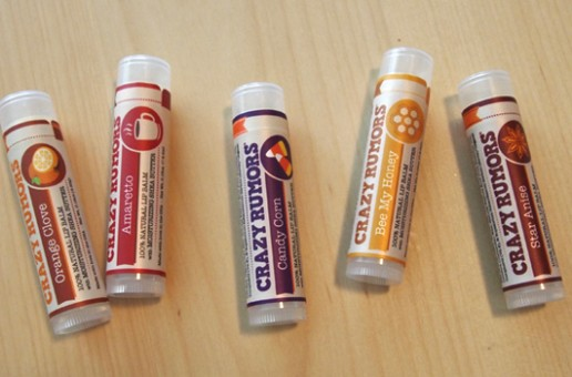 Product Review: Crazy Rumors Harvest Collection Lip Balm