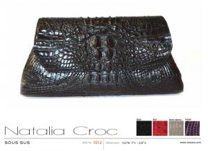 Natalia Croc in black