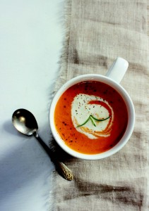 Roasted Red Pepper & Tomato Bisque WEB