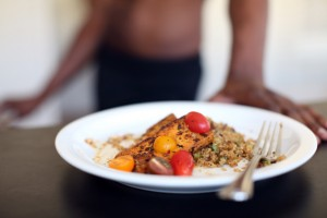 Cajon tofu and dirty Quinoa-1497