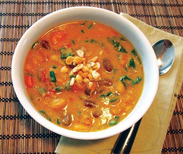 ... Vegan Virtual Vegan Potluck: Curried Pumpkin Peanut Soup - Chic Vegan