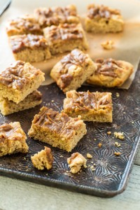 Salted Caramel Peanut Butter Bars-2