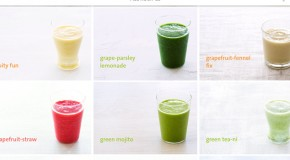The Blender Girl App and a Green Mojito Smoothie Recipe