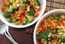 Recipe: Indonesian Broccoli & Tempeh in Spicy Peanut Sauce
