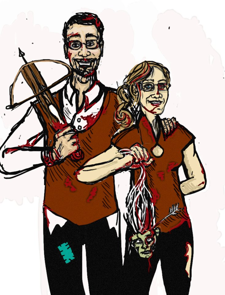 Slaying zombies are the only blood sport we can agree on.