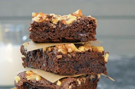 Recipe: Vegan Fudge Brownies