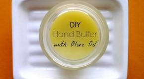 DIY – Olive Oil Hand Butter