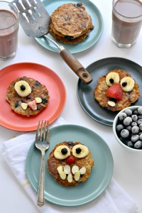 Kathy's Lemon Blueberry Pancakes