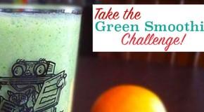 Orange-Ginger Green Smoothie Recipe + A Green Smoothie Challenge!