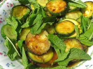 zucchini agrodolce
