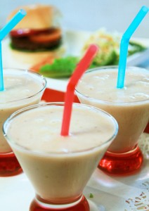 Banana Milk-less Shakes  from Jazzy Vegetarian Laura Theodore - Vegan Memorial Day Recipes