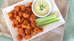 Recipe: Buffalo Cauliflower Bites