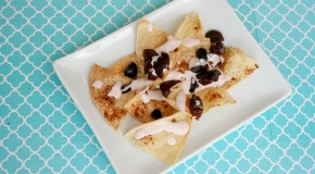 Vegan and Gluten-Free Sweet Nachos